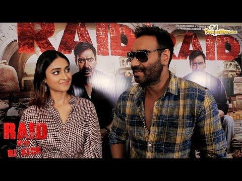 Raid Special | In Conversation With | Ajay Devgn | Ileana D'Cruz | PeepingMoon