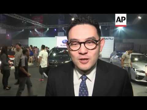 The 2017 Manila International Auto show opens