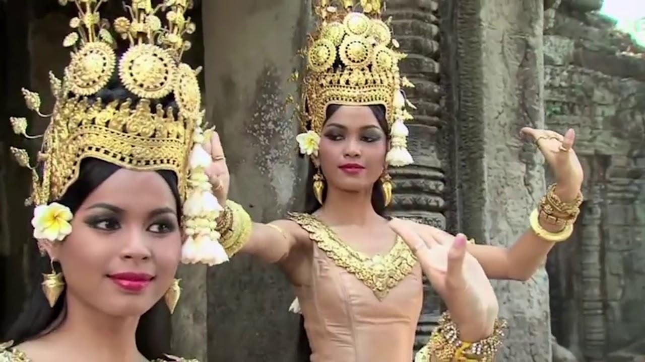 Cambodia-Angkor wat Apsara Royal dance - YouTube