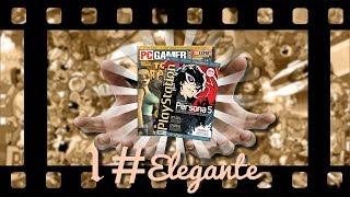 #Elegante#1 mostrando revistas antigas