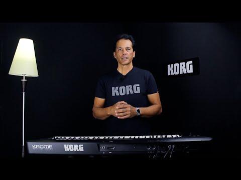 KORG® KROME - Arquitetura Sonora