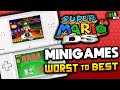Gambar cover Ranking Every Super Mario 64 DS Minigame TetraBitGaming