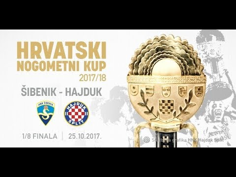 HRVATSKI KUP: HNK Šibenik-HNK Hajduk Split (0:0) 0:1  UŽIVO