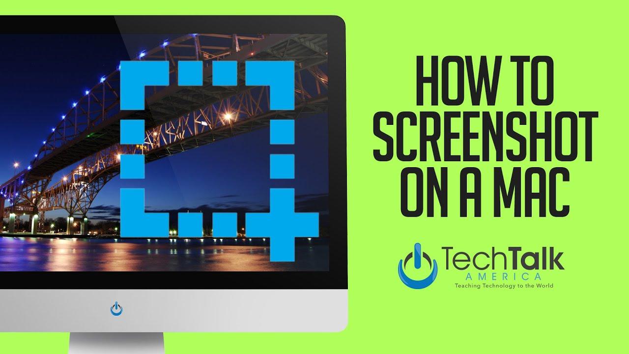 how to screenshot mac