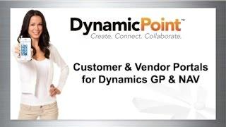 Build Self-Service Customer and Vendor Portals for Dynamics GP & NAV