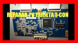 Como reparar TV LED LCD que no se ve bien o no se ve