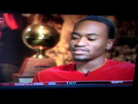 Kevin Ware Cries in his first interview since broken leg injury