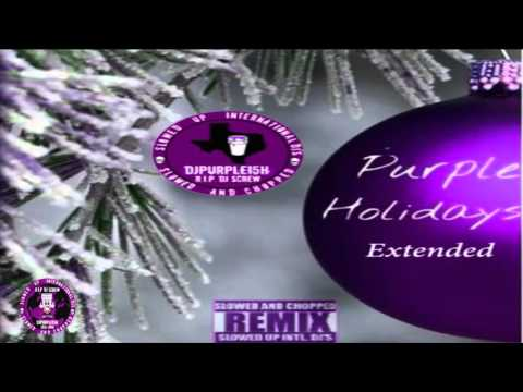 Chris Brown - Till The Morning (Purple Holidays Extended) (Official Chopped Visual)