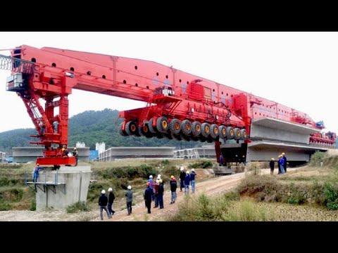 World Amazing Modern Bridge Construction Machines - Biggest Heavy Construction Equipment Working