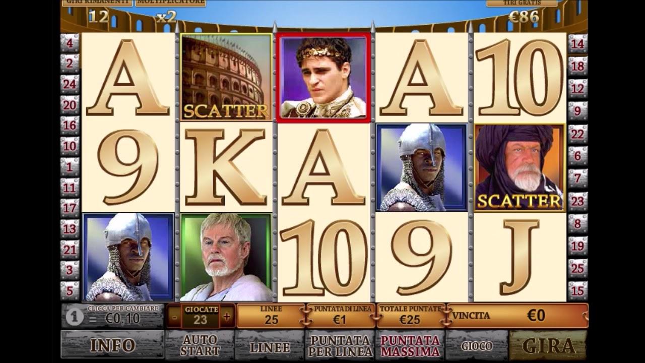 Slot Machine Gratis Il Gladiatore