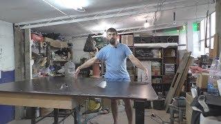 Мастерская. Новый распиловочный  и фрезерный стол