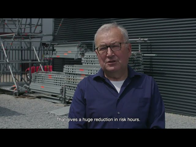 McNetiq Scaffolding solution Vopak Europoort