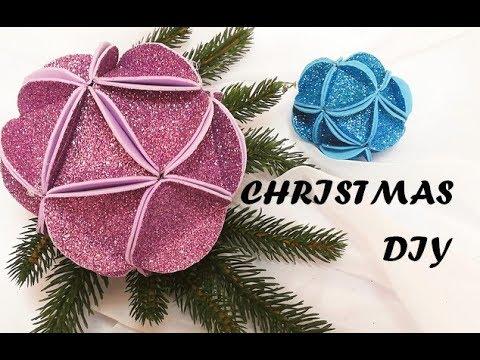 Christmas decor 2019. Glitter foam sheet craft ideas. Diy christmas ornaments. Christmas 2019