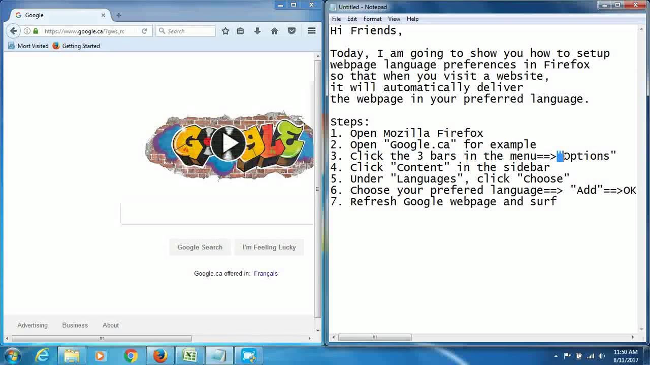 41 Change Mozilla Firefox language settings web