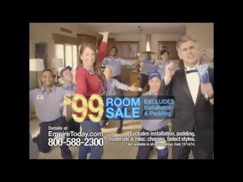TV Commercial Spot - Empire Today $99 Room Sale - Some Big. Some ...