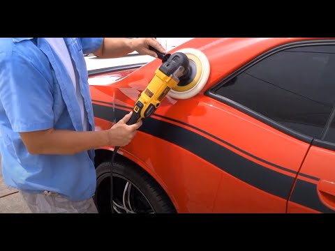 Spray Paint Vandalism Repair / Dodge Challenger RT / National Overspray Removal Services