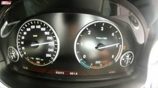 BMW M550d xDrive 0-250 km/h Test Drive New M5 Style 740 Nm Diesel sport auto