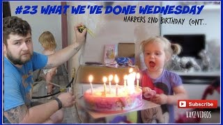 HARPERS BIRTHDAY CELEBRATIONS CONTINUE | REFERENDUM VOTING | #WWDW #23