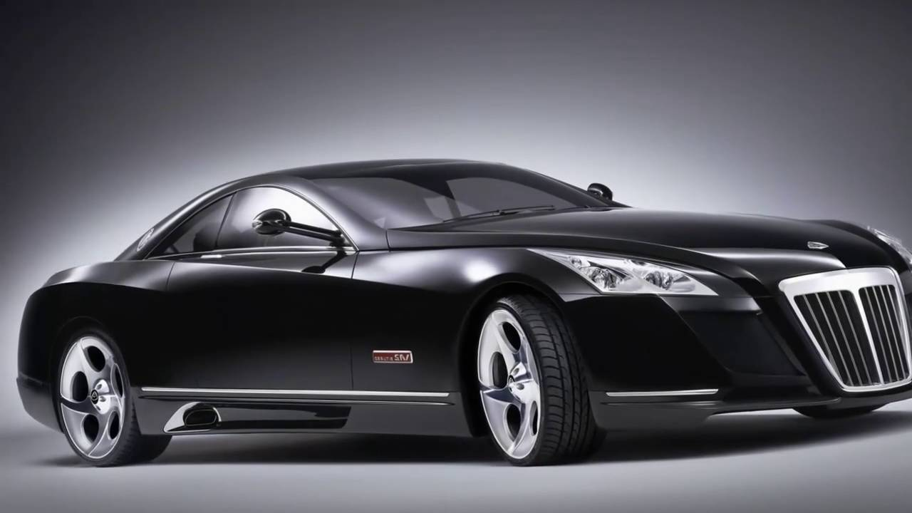 mercedes benz maybach exelero the 8 million dollar car