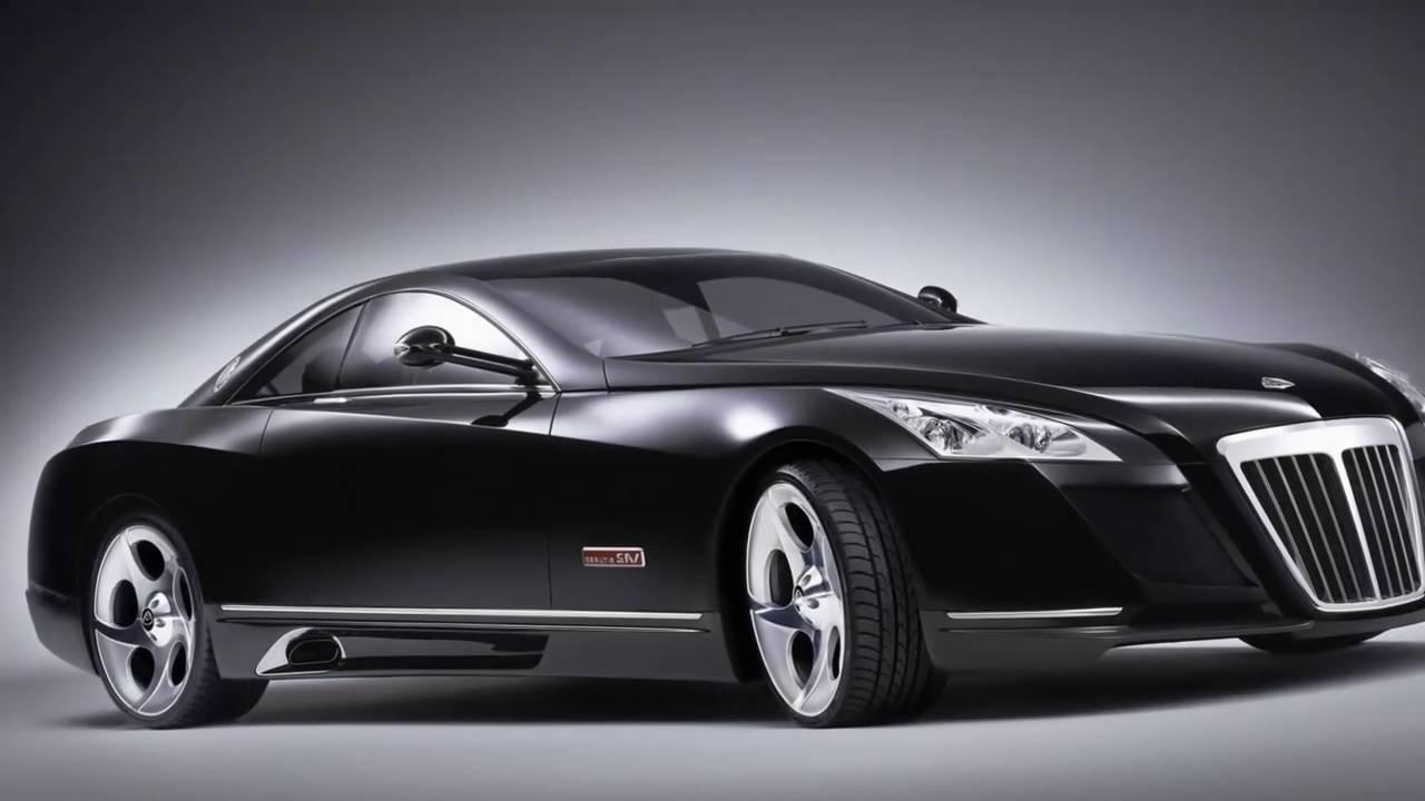 Top 10 world's most expensive car Mercedes-Benz Maybach Exelero