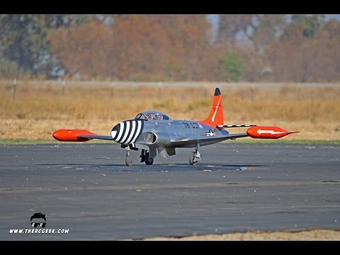 RC Lockheed T-33 Shooting Star (JMP) -- US Scale Masters Championships 2016