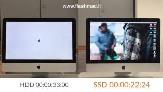 iMac SSD vs HDD - Test Avvio | iMac Boot Speed with SSD