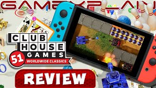 Clubhouse Games: 51 Worldwide Classics - REVIEW (Nintendo Switch) (Video Game Video Review)