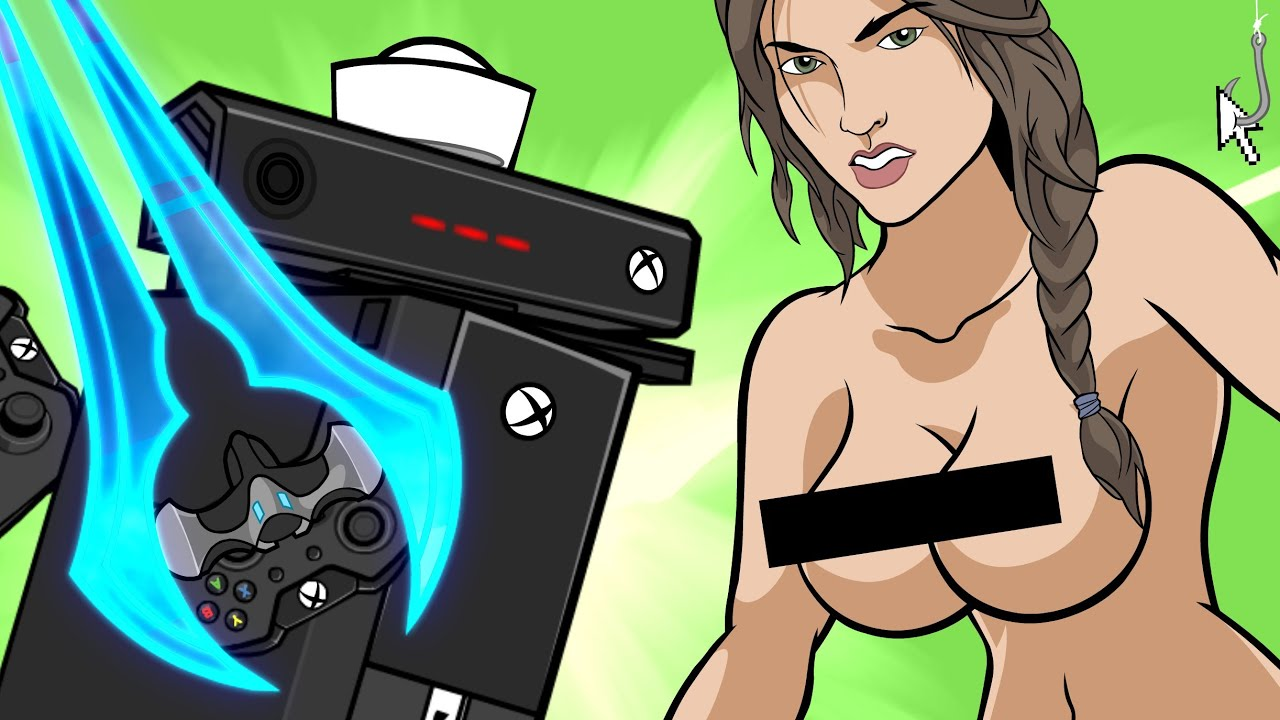 Sexy nude gamer xbox girls
