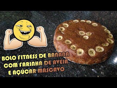COMO FAZER BOLO DOCE FITNESS DE BANANA E AVEIA | Como Fazer Fácil #Receitas 43