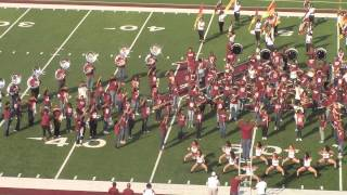 Alabama A&M University Band 2014 Fan Day - Neck