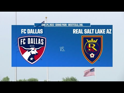 Development Academy Playoffs - U-17/18: FC Dallas vs. RSL-AZ: - June 24, 2015