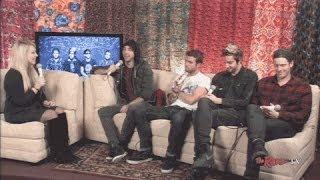 Backstage Interview with All Time Low
