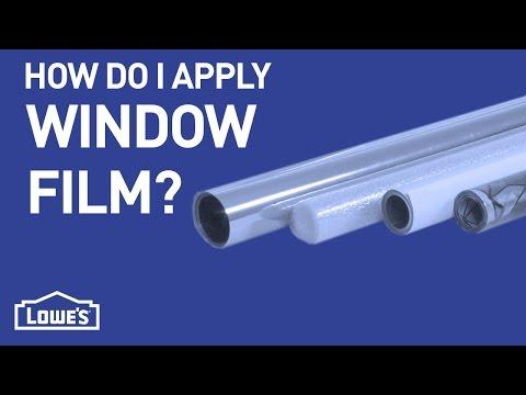 How Do I Install Window Film?   DIY Basics