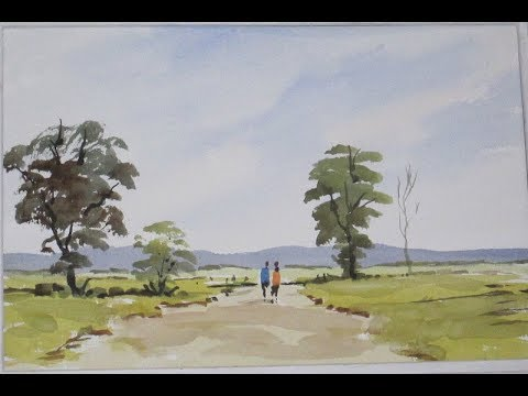 Watercoloring tips for loose landscape lovers