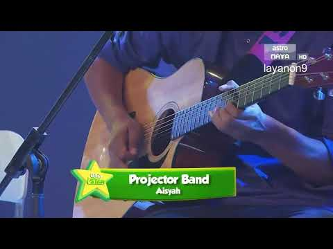 Aisyah versi nasyid (projector band) - ceria I star 2017 episode 3