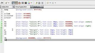 Gambar cover HTML Tutorial 7 of 7:  Cascading Style Sheets Part 2