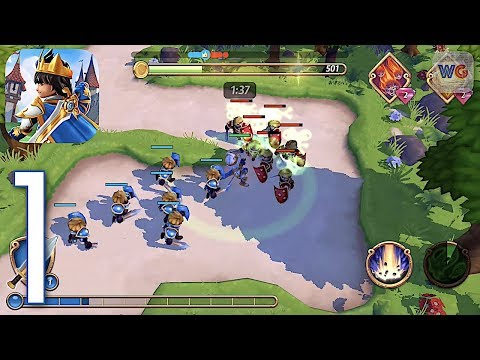 Royal Revolt 2: Tower Battle - IOS Android Gameplay #1