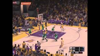 Nba 2k14 Pc 2014-15 Rookies Boston Celtics vs La Lakers Gameplay