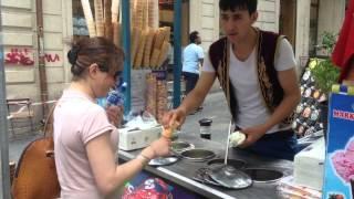 Hilarious Turkish Ice cream seller