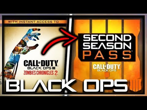 Black Ops 4 Zombies SECOND Season Pass & Zombies Chronicles 2 Announcement! (COD BO4 Zombies DLC 5)