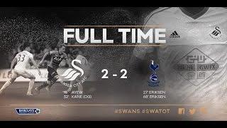 Video Full Pertandingan Swansea City vs Tottenham Hotspur