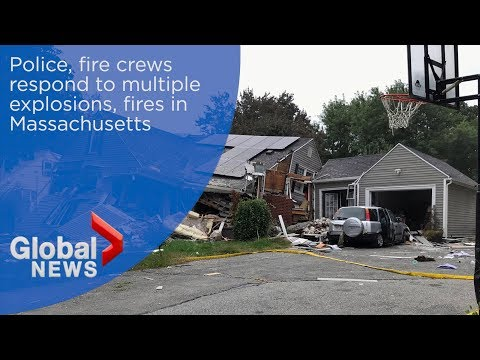 Residents evacuate after multiple explosions, fires in Massachusetts