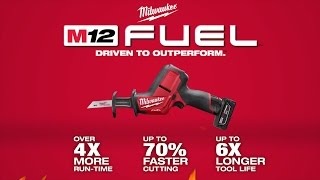 Milwaukee® M12 FUEL™ HACKZALL® Recip Saw Kit