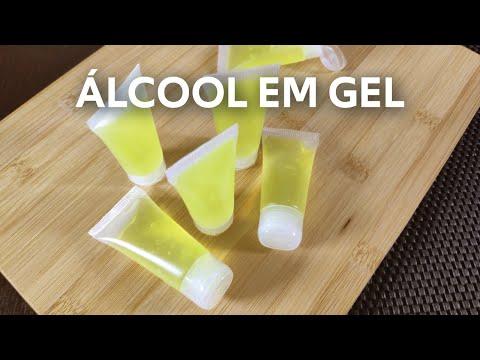 Como fazer álcool em gel 70ºINPM