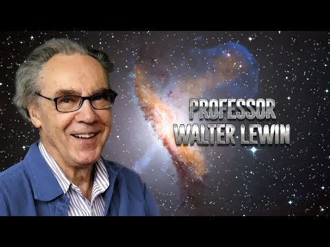 Walter Lewin on physics, art, secrets of teaching and the main mysteries of the Universe