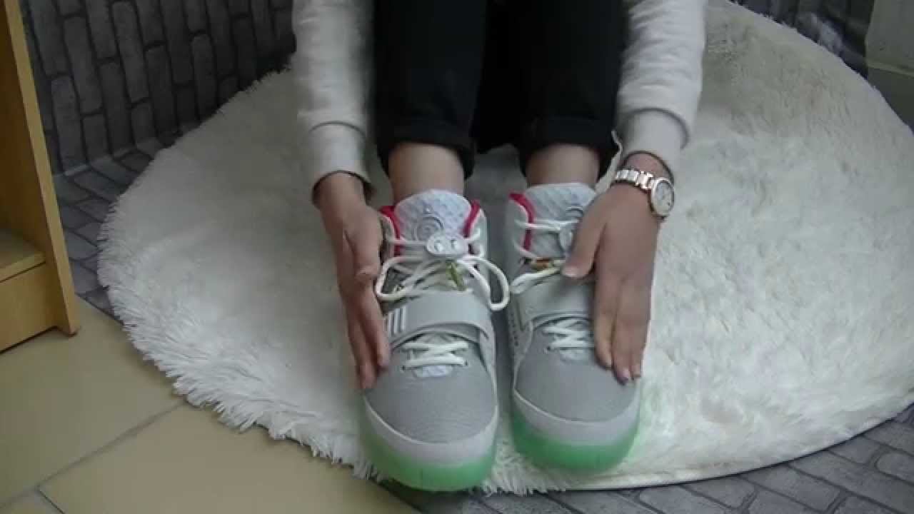 buy online be59a 42936 Nike Air Yeezy 2 wolf grey   platinum 3M - YouTube