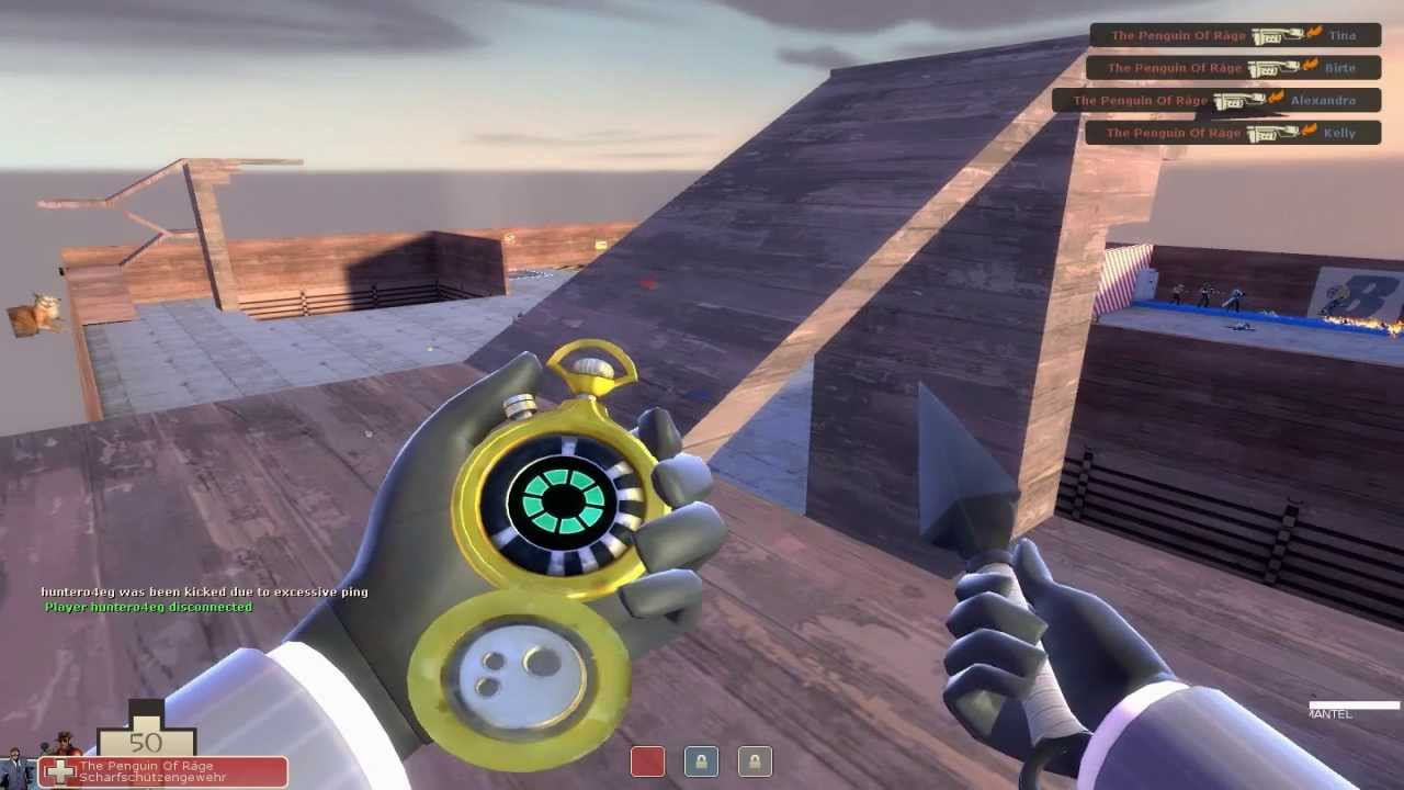 how to go to the achivement server in tf2