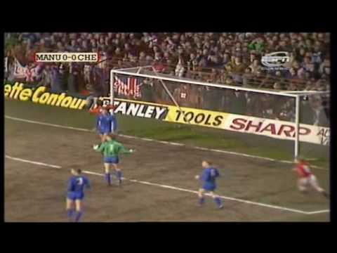 Manchester United 1-2 Chelsea 1985-86