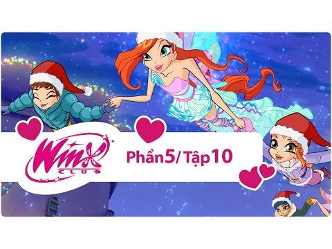Winx Club - Phần 5 Tập 10 - Giáng sinh phép thuật - [trọn bộ]