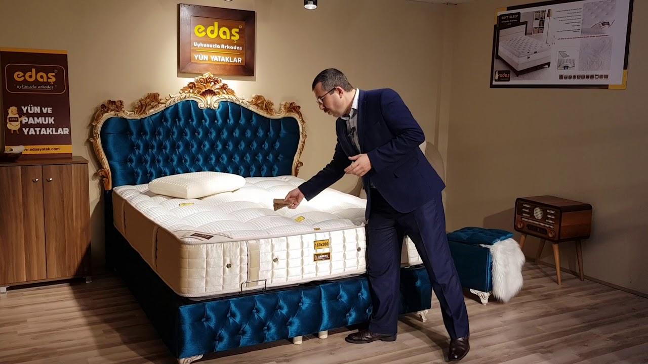Yatağa öz güvenli girin